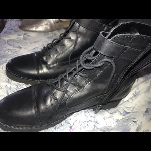 Shoes - Nine West combat boots